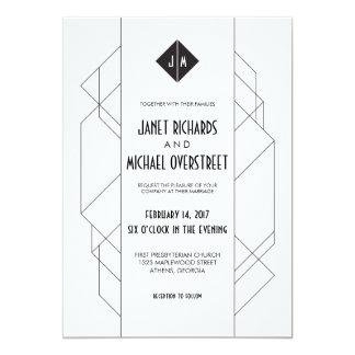 Modern Art Deco Card