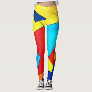 Modern Art Leggings