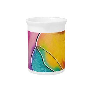 Modern art pitcher