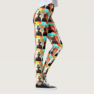 Modern Art Thanksgiving Leggings