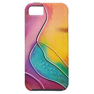 Modern art tough iPhone 5 case