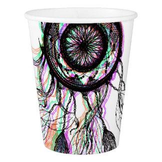 Modern Artistic Native American Dreamcatcher Paper Cup