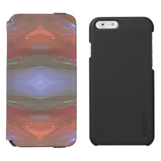 modern Artistic Vibrant Abstract Incipio Watson™ iPhone 6 Wallet Case