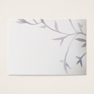Modern Asian Inspired Wedding Reception PlaceCards Business Card