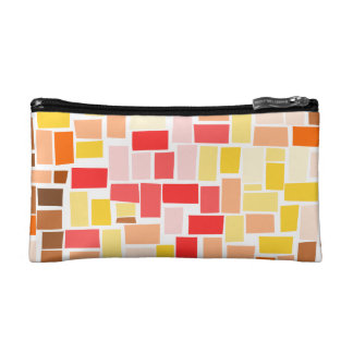 Modern Autumn Leaves Cosmetic Bags