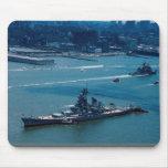 "Modern battleship, ""USS Wisconsin"", New York, U.S."