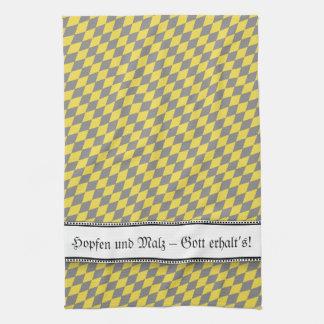 Modern Bavarian Statement Tea Towel