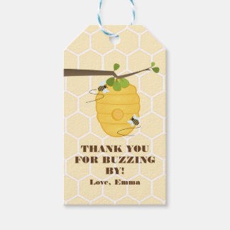 Modern Bee Gift Tags