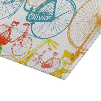 Modern Bicycle Mid Century Retro Cutting Board