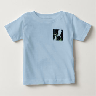 modern big Boston Terrier Baby T-Shirt