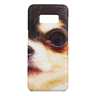 modern big Chihuahua Case-Mate Samsung Galaxy S8 Case