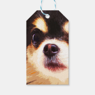 modern big Chihuahua Gift Tags