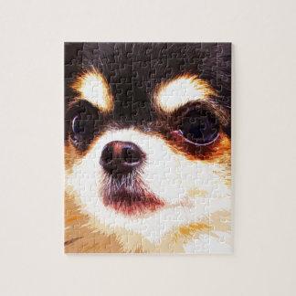 modern big Chihuahua Jigsaw Puzzle