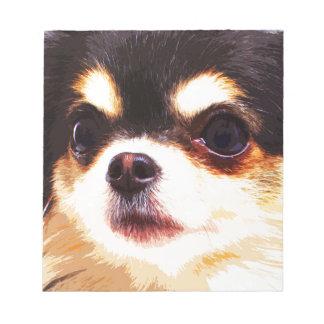 modern big Chihuahua Notepad