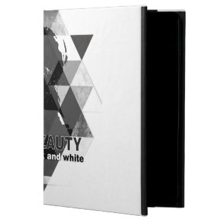 modern black and white powis iPad air 2 case