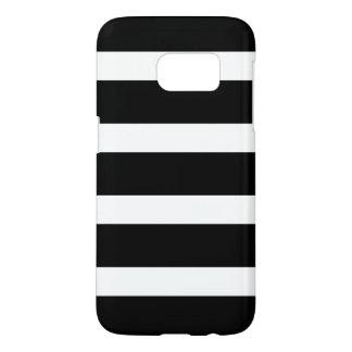 Modern Black and White Stripes Pattern