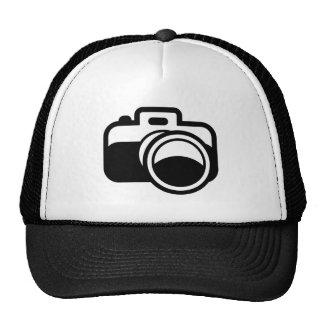 Modern Black Camera Icon Photographer Cap