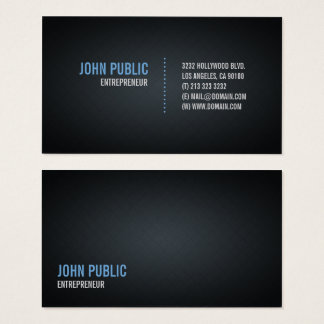 Modern Black Diamond Tile Pattern Business Card