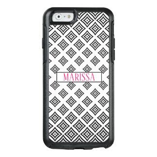 Modern Black Geometric Shapes Design OtterBox iPhone 6/6s Case