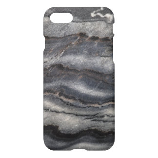 Modern Black Marble Pattern Background iPhone 8/7 Case