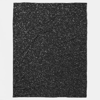 Modern Black Stone style -Space- Fleece Blanket