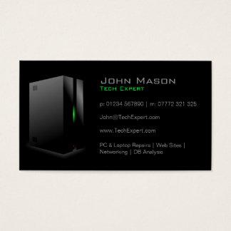 Modern Black Technology - Business Card