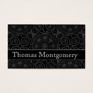Modern Black & White Business Cards