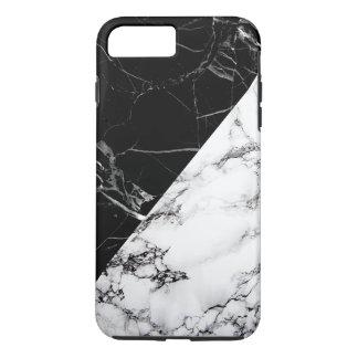 Modern Black White Marble Unique Texture iPhone 7 Plus Case