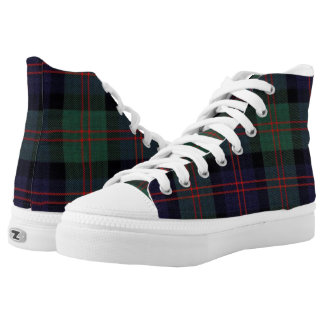 Modern Blair Plaid High Top Shoe