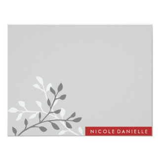 Modern Block Note Card 11 Cm X 14 Cm Invitation Card
