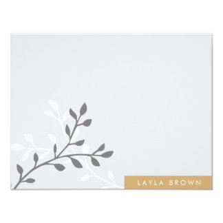 Modern Block Note Cards 11 Cm X 14 Cm Invitation Card