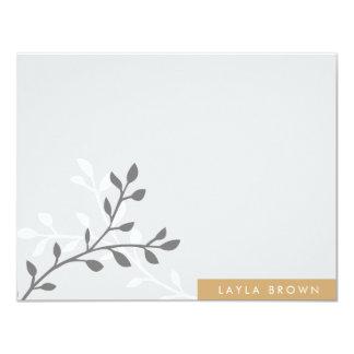 Modern Block Note Cards 11 Cm X 14 Cm Invitation Card