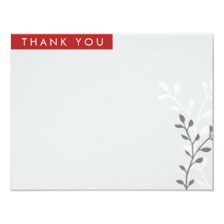 Modern Block Thank You Cards 11 Cm X 14 Cm Invitation Card