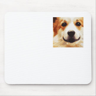 modern blown Welsh Corgi Mouse Pad
