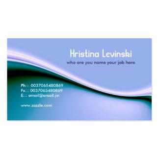 modern blue business card standard business cards