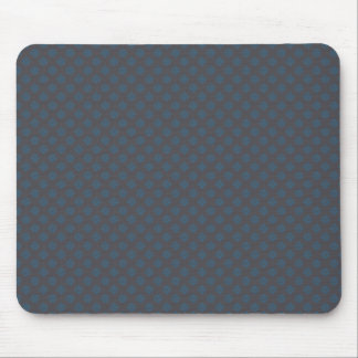 Modern blue circles on rough dark blue background mousepads