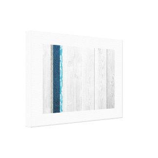 Modern Blue Gallery Wrapped Canvas