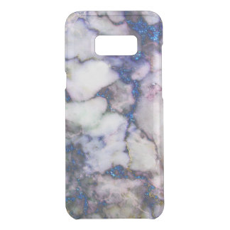 Modern Blue Glitter Gray And Pink Marble Stone Get Uncommon Samsung Galaxy S8 Plus Case