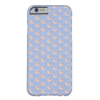 modern blue moon iphone case