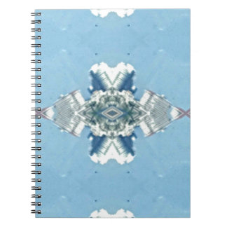 Modern Blue Soft Design Notebooks
