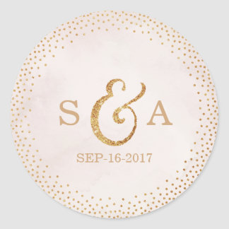 Browse the Wedding Monogram Gift Sticker Collection and personalise by colour, design or style.