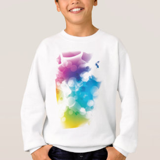 Modern Bokeh Abstract Light Sweatshirt