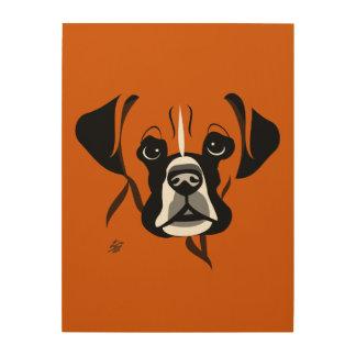 Modern Boxer Dog Art