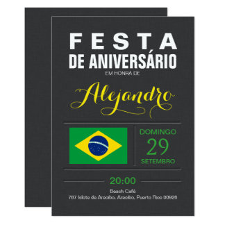 Modern: Brasil Party Card