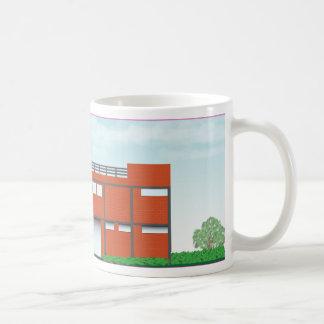 Modern Brick House Coffee Mug