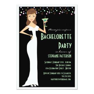 Modern Bride Bachelorette Party Invitation