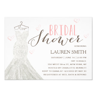Modern Bride | Bridal Shower Invitation