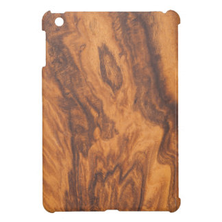 Modern Brown Faux Wood iPad Mini Cover