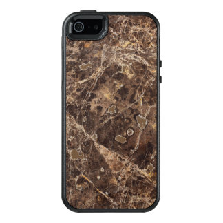 Modern Brown Tones Marble Stone OtterBox iPhone 5/5s/SE Case