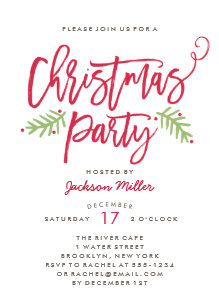 Christmas Invitations Announcements Zazzle Com Au